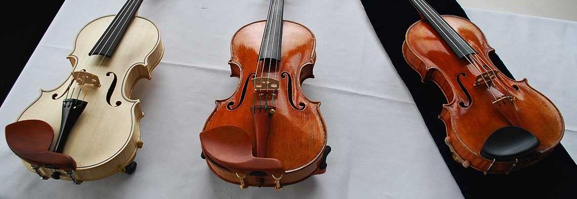 Oberlin Betts copy (unvarnished), Oberlin Ole Bull Copy, The Betts Stradivari