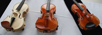 Oberlin Betts copy (unvarnished), Oberlin Ole Bull Copy, The Betts Stradivari