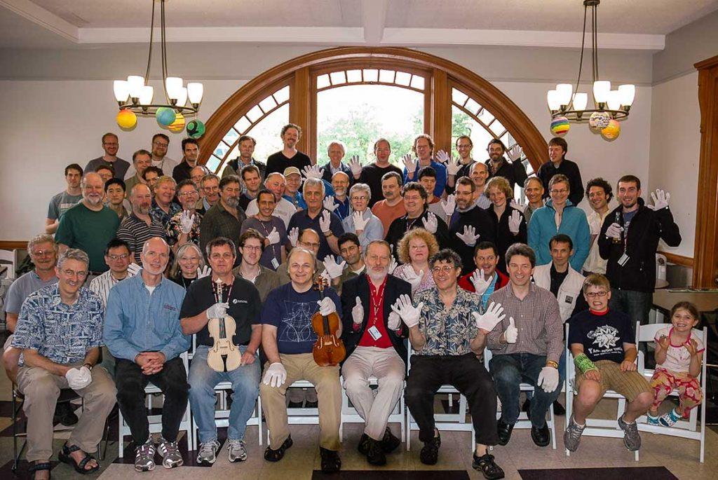 Participants of the 2011 Oberlin Violin Makers Workshop